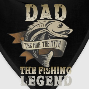 Dad - The fishing legend - Bandana