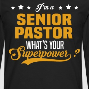 Senior Pastor - Men's Premium Long Sleeve T-Shirt