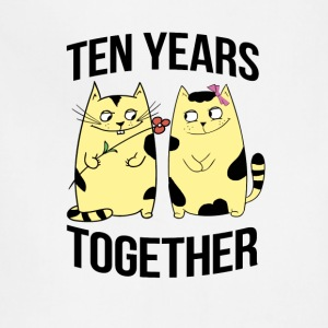 Ten years together - Adjustable Apron