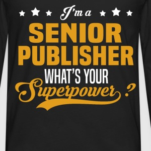 Senior Publisher - Men's Premium Long Sleeve T-Shirt