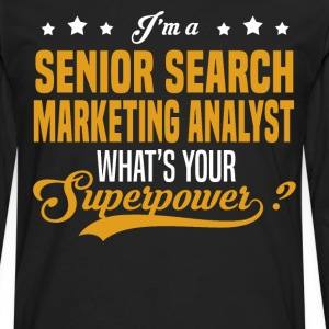 Senior Search Marketing Analyst - Men's Premium Long Sleeve T-Shirt