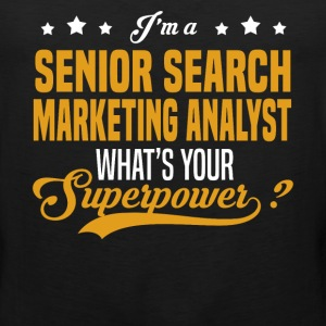 Senior Search Marketing Analyst - Men's Premium Tank