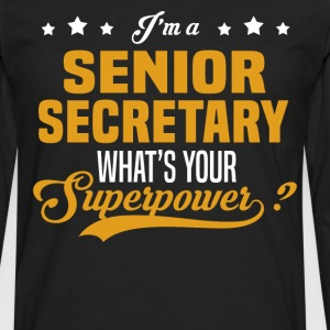 Senior Secretary - Men's Premium Long Sleeve T-Shirt