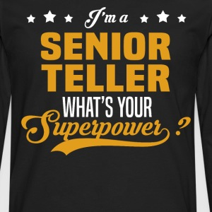 Senior Teller - Men's Premium Long Sleeve T-Shirt