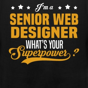 Senior Web Designer - Men's Premium Tank