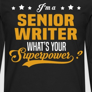 Senior Writer - Men's Premium Long Sleeve T-Shirt