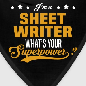 Sheet Writer - Bandana