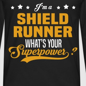 Shield Runner - Men's Premium Long Sleeve T-Shirt