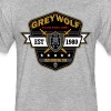 Grey Wolves Premium Tee Shirt - Fitted Cotton/Poly T-Shirt by Next Level