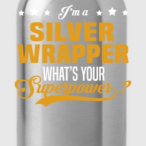 Silver Wrapper - Water Bottle