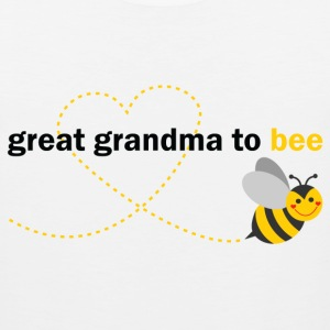 Great Grandma To Bee T-Shirts - Men's Premium Tank
