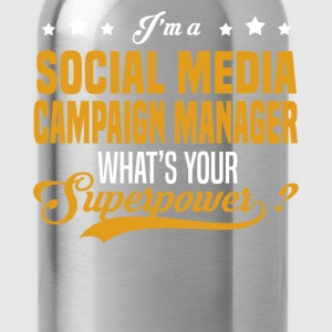 Social Media Campaign Manager - Water Bottle
