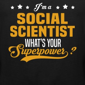 Social Scientist - Men's Premium Tank