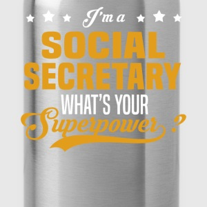 Social Secretary - Water Bottle
