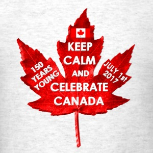 KEEP CALM 150 YEARS CANADA 3D - Men's T-Shirt