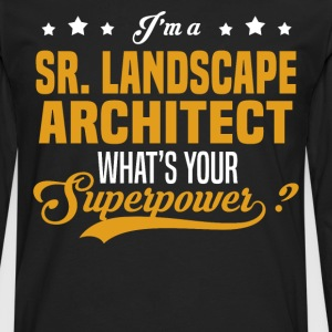 Sr. Landscape Architect - Men's Premium Long Sleeve T-Shirt