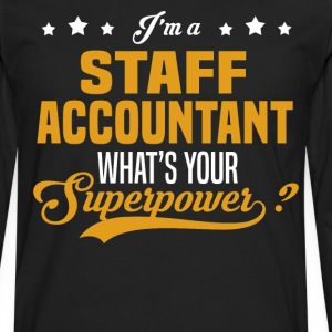 Staff Accountant - Men's Premium Long Sleeve T-Shirt