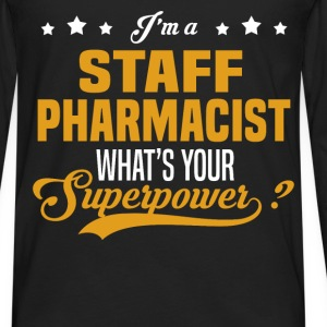 Staff Pharmacist - Men's Premium Long Sleeve T-Shirt