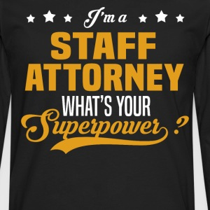 Staff Attorney - Men's Premium Long Sleeve T-Shirt