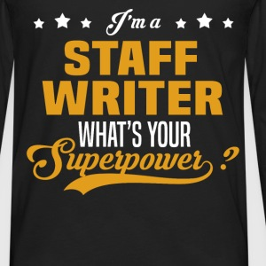 Staff Writer - Men's Premium Long Sleeve T-Shirt