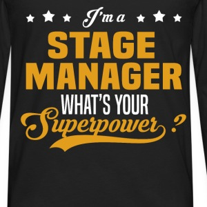Stage Manager - Men's Premium Long Sleeve T-Shirt