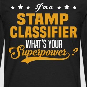 Stamp Classifier - Men's Premium Long Sleeve T-Shirt