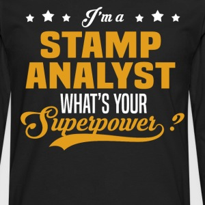 Stamp Analyst - Men's Premium Long Sleeve T-Shirt