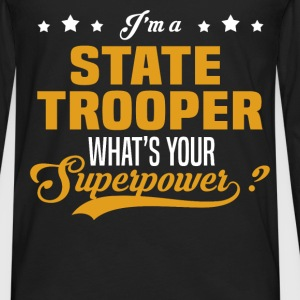State Trooper - Men's Premium Long Sleeve T-Shirt