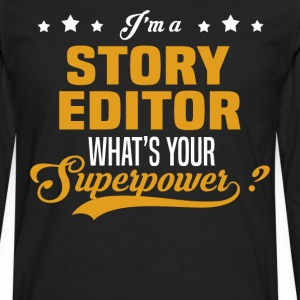 Story Editor - Men's Premium Long Sleeve T-Shirt