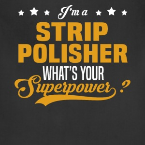 Strip Polisher - Adjustable Apron