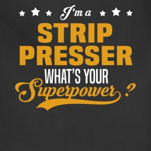 Strip Presser - Adjustable Apron