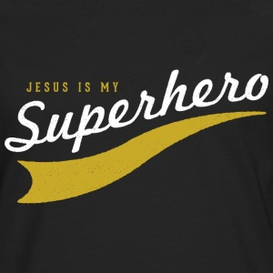 Jesus Is My SuperHero! T-Shirts - Men's Premium Long Sleeve T-Shirt