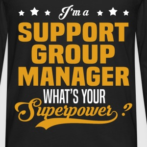 Support Group Manager - Men's Premium Long Sleeve T-Shirt