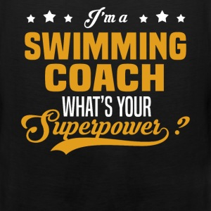Swimming Coach - Men's Premium Tank