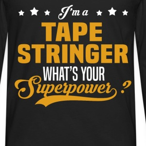 Tape Stringer - Men's Premium Long Sleeve T-Shirt
