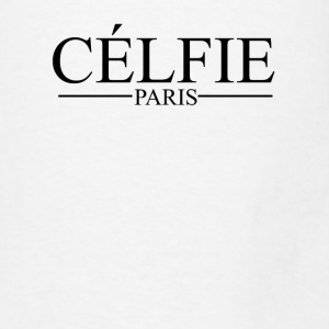 Selfie in French is CELFIE PARIS France Graphic Tanks - Men's T-Shirt