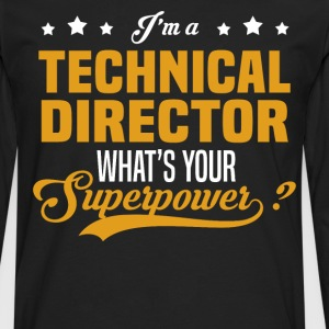 Technical Director - Men's Premium Long Sleeve T-Shirt