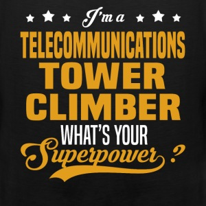 Telecommunications Tower Climber - Men's Premium Tank