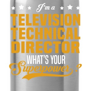 Television Technical Director - Water Bottle