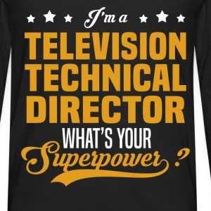 Television Technical Director - Men's Premium Long Sleeve T-Shirt