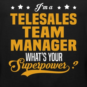 Telesales Team Manager - Men's Premium Tank