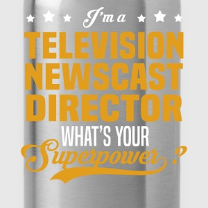 Television Newscast Director - Water Bottle