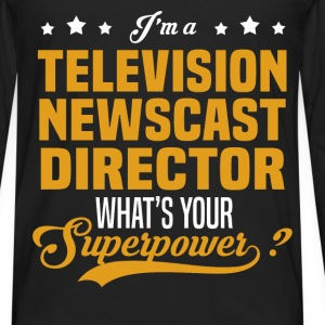 Television Newscast Director - Men's Premium Long Sleeve T-Shirt