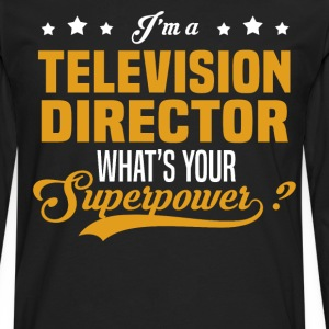 Television Director - Men's Premium Long Sleeve T-Shirt