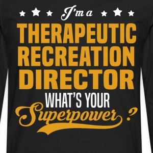 Therapeutic Recreation Director - Men's Premium Long Sleeve T-Shirt