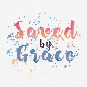 Saved by Grace iPhone Case - Men's T-Shirt