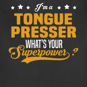 Tongue Presser - Adjustable Apron