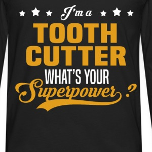 Tooth Cutter - Men's Premium Long Sleeve T-Shirt