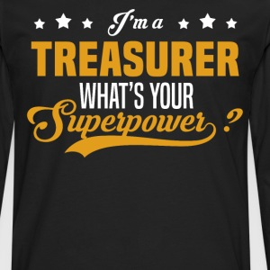 Treasurer - Men's Premium Long Sleeve T-Shirt