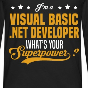 Visual Basic .NET Developer - Men's Premium Long Sleeve T-Shirt